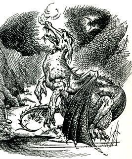 illustration of Eustace